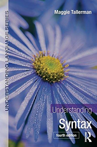 Understanding Syntax (Understanding Language) Pdf
