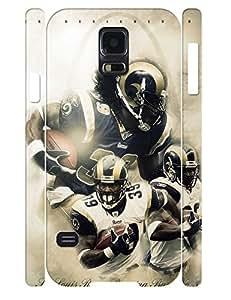 Classy Men Pattern Custom 3D Print Durable TPU Phone Protective Case for Samsung Galaxy S5 I9600