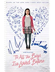 To All The Boys I've Loved Before reprint cast signed autographed 12x18 poster photo Centineo Condor