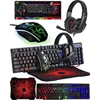 Orzly RX250 Gaming Mouse & Keyboard Combo