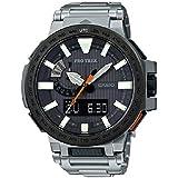 Casio ProTrek MANASLU Titanium Watch PRX8000T-7A Triple Sensor Altimeter Barometer Compass
