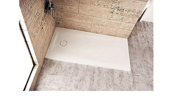Plato de ducha 90x160 cm MODE Solid Surface con desagüe incluido: Amazon.es: Bricolaje y herramientas