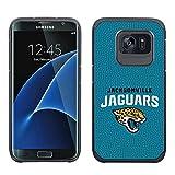NFL Jacksonville Jaguars True Grip Football Pebble Grain Feel Samsung Galaxy S7 Edge Case