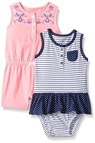 Carter's Baby Girls' 2-Pack Romper,
