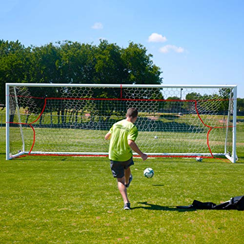 Soccer Innovations PK Pro Snipers Net for Visual Training, Scoring, and Finishing, Fits 24-Foot by 8-Foot Regulation Goal