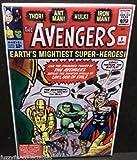Avengers #1 Marvel Comic Book Cover 2 x 3 Refrigerator Locker MAGNET