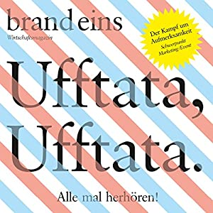 brand eins audio: Marketing/Event Hörbuch