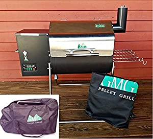 Green Mountain Grills Davy Crockett Pellet Grill PACKAGE, Cover and Tote included - WIFI enabled from epic Green Mountain Grills