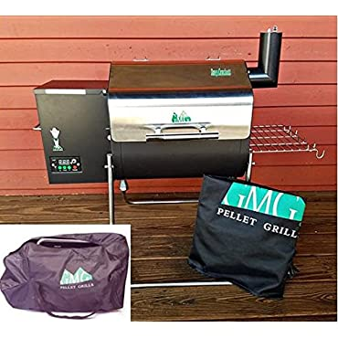 Green Mountain Grills Davy Crockett Pellet Grill PACKAGE, Cover and Tote included WIFI enabled
