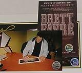 BRETT FAVRE PACKERS SIGNED POSTER MONDAY NIGHT