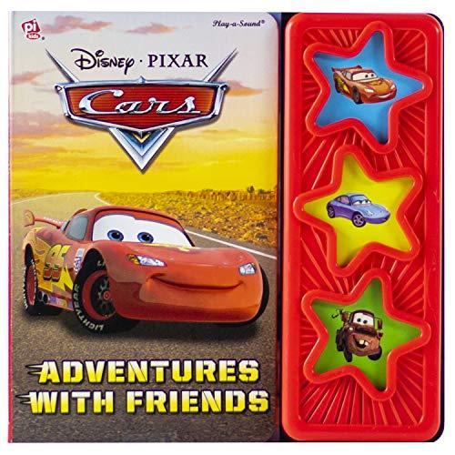 Disney Pixar Cars - Adventures with Friends Sound Book - PI Kids