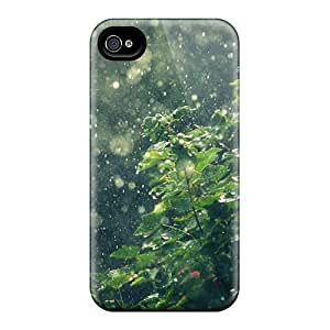 PaGgCmL427XUWvU Case Cover, Fashionable Iphone 4/4s Case - Rain Summer