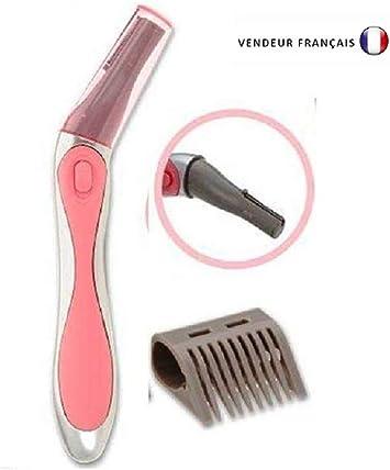 Afeitadora – Depiladora eléctrica pieles sensibles Pritech: Amazon ...