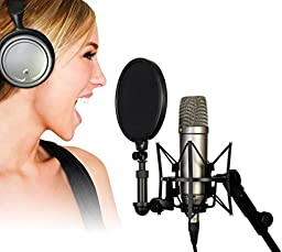 Rode NT1A Anniversary Vocal Condenser Microphone Package