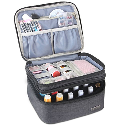 Luxja Nail Polish Carrying Case
