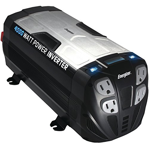 ENERGIZER Inverter converts battery compatible