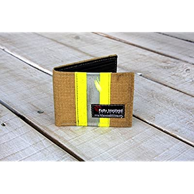 Firefighter Wallet Made From Recycled Turnout Bunker Gear