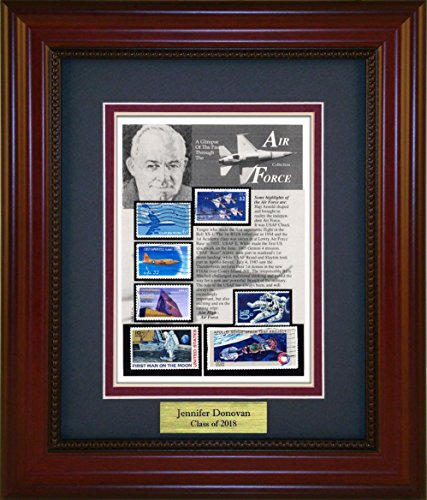Air Force Unique Framed Collectible with Personalized Engraved Plate