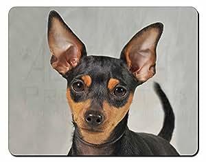 Miniatura del perro del indicador Estera del ratón del ordenador regalo de Navid
