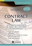 Contract law : les points essentiels du droit des contrats internationaux