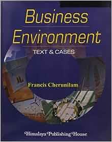Business environment francis cherunilam