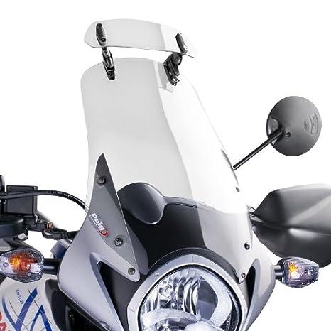 Puig 6319W Clear 230mm x 90mm Multi-Adjustable Clip-On Visor