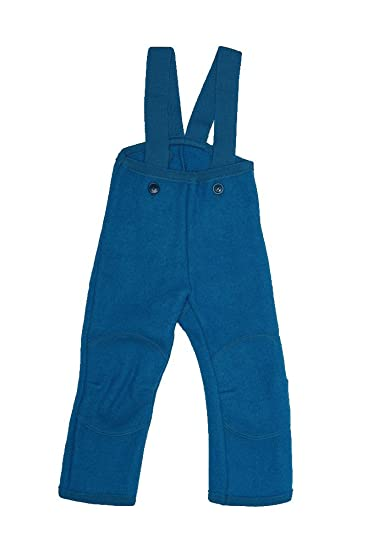 5da7d775d222 Disana Organic Boiled Merino Wool Trousers Dungarees  Amazon.co.uk ...