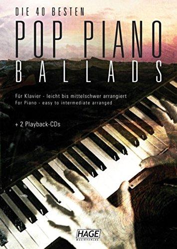 Pop Piano Ballads mit 2 Playback-CDs