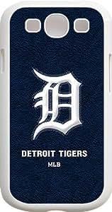 Onelee?? - MLB Team Logo, Detroit Tigers Logo Samsung GALAXY S3 Cases (White) - Detroit Tigers 1