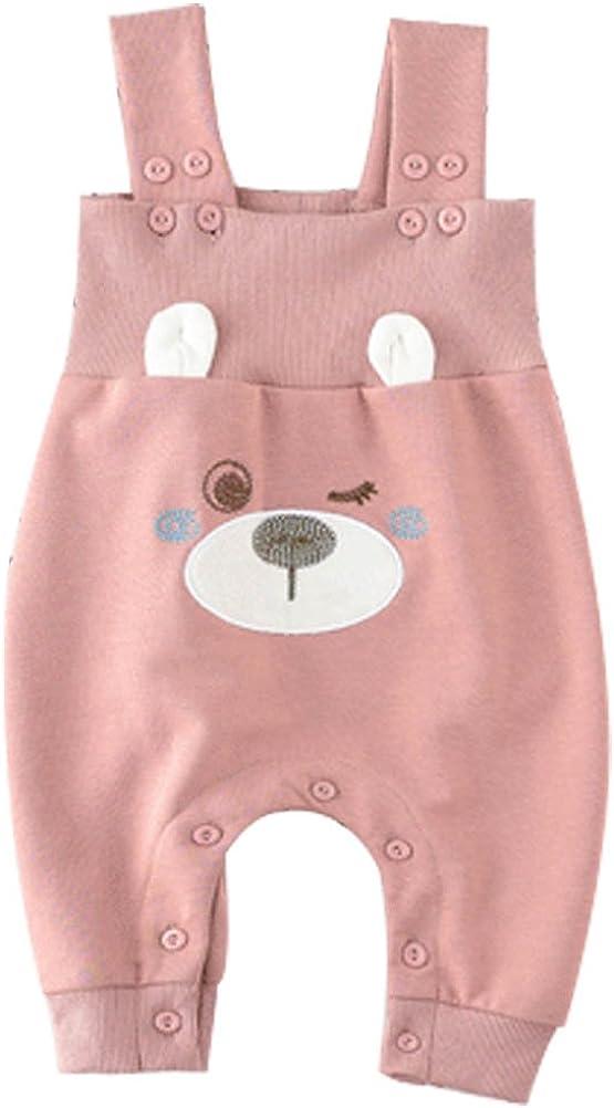 ARAUS Pagliaccetto Salopette Pantaloni di Neonato Infantile Outfit