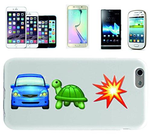 """Smartphone Case Apple IPhone 6+ Plus / 6S+ Plus """"Auto und Schildkröte ist gleich Boom"""", der wohl schönste Smartphone Schutz aller Zeiten."""