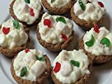 White Christmas Chocolate Tartlets
