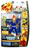 Marvel Fantastic Four Legends Series 1  Human Torch Action Figure