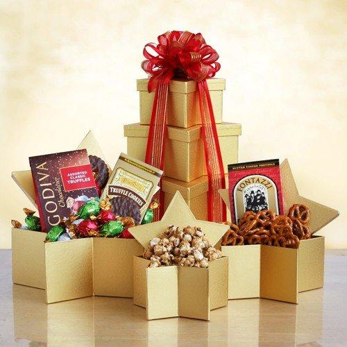 Holiday Star | Godiva Chocolate Christmas Gift Tower