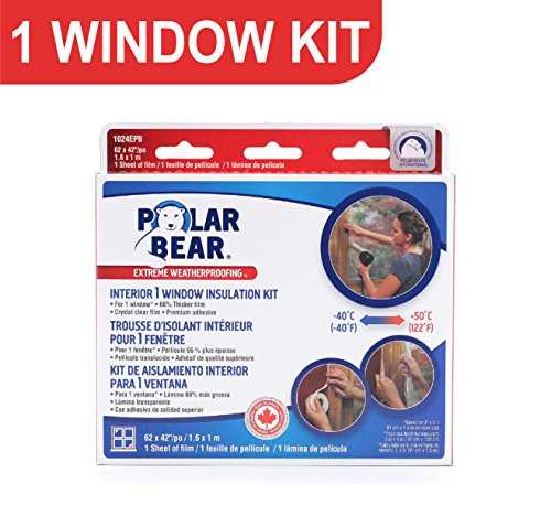 polar-bear-weatherproofing-extreme-1-window-insulation-film-kit-64-inch-x-42-inch-66-thicker-crystal