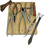 (8) Piece Bonsai Tool Set by Fujiyama - Stainless Steel