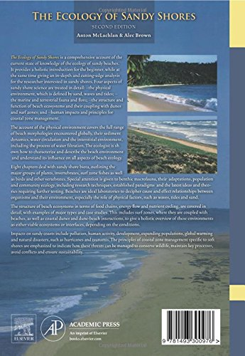 The Ecology of Sandy Shores, Second Edition