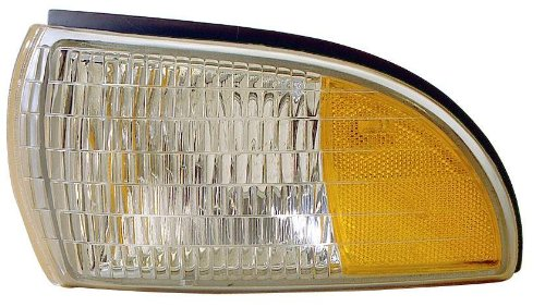 Depo 332-1527L-UST Chevrolet/Buick/Oldsmobile Driver Side Replacement Side Marker Lamp Unit with Cornering Lamp
