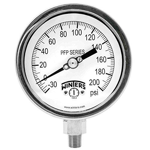 vacuum gauge hg stainless - 5
