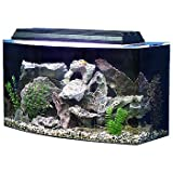 "SeaClear 36 gal Bowfront Acrylic Aquarium Combo Set, 30 by 15 by 21"", Clear"