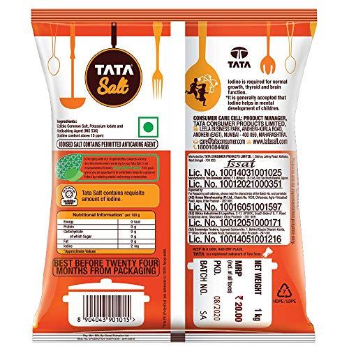 Tata Salt, 1kg 3