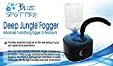 Deep Jungle Fogger, Advanced Humidifying Fogger For Reptiles & Amphibians In Terrariums & Aquariums! Provides Essential Moisture & humidity For The Well-being Of Your Pet Reptile and