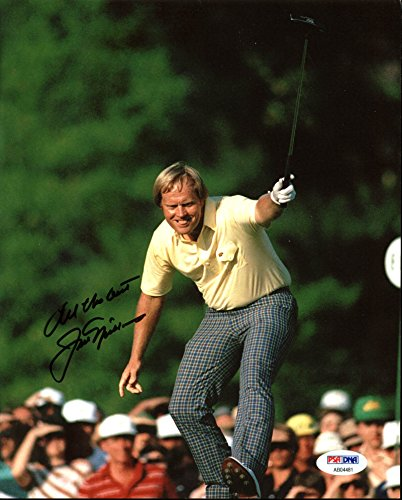 Jack Nicklaus Authentic Signed 1986 Masters 8X10 Photo PSA/DNA #AB04481 by Press Pass Collectibles