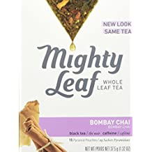 Mighty Leaf Tea Bombay Chai, 15 tea bags