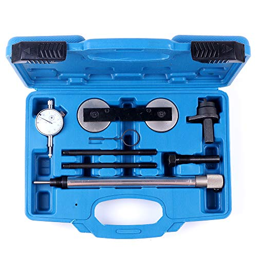 SCITOO Fit Audi A1/ A3 VW1.2 1.4 TSI Beetle Special Timing Locking Tool Set 2 Guide Pins Camshaft Alignment Tool Crankshaft Locking Pin