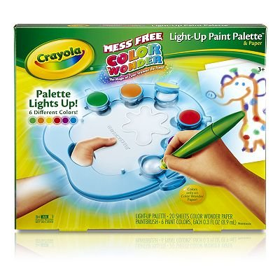 Crayola Color Wonder Light-Up Paint Palette toy gift idea birthday