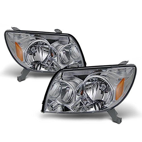 For Toyota 4Runner Sport SUV [OE Style] Replacement Headlights Driver/Passenger Head Lamps Pair -