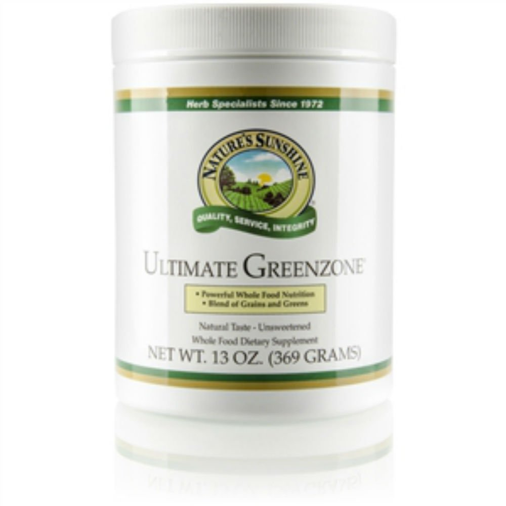 ULTIMATE GREENZONE POWDER (368 Gram), Whole Food Beverage Mix, GUARANTEED PURE, ''FAST SHIPPING''(Pack of 6)
