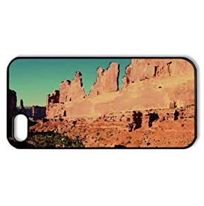 Arches National Park Watercolor style Cover iPhone 5 and 5S Case (Desert Watercolor style Cover iPhone 5 and 5S Case)