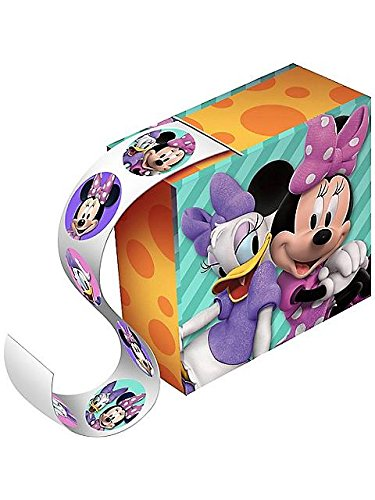 Minnie Mouse Party Favor Sticker Boxes - 4 pack